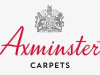 Axminster carpets logo grey bg
