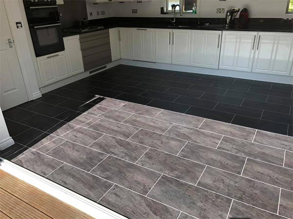 Red Flooring Designs kitchen tiling 02